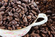 Free Coffee Beans Royalty Free Stock Photos - 21550578