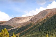 Free View From Independence Pass In Colorado Stock Photography - 21553252