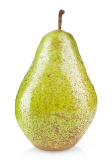 Free Ripe Green Pear Royalty Free Stock Photography - 21554357