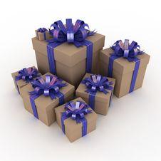 Free Gift Box Stock Image - 21554691