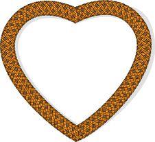 Rope Heart, Vector Royalty Free Stock Photos