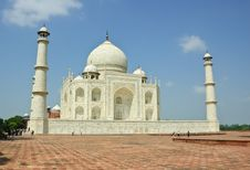 Free Taj Mahal, India Stock Photography - 21555942