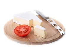 Free Cheese And Tomato Slice Stock Photos - 21556503