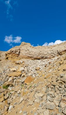 Free Landscape With Rocks And Sky Royalty Free Stock Photo - 21556545