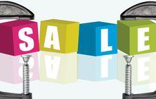 Free Sale Royalty Free Stock Image - 21557476
