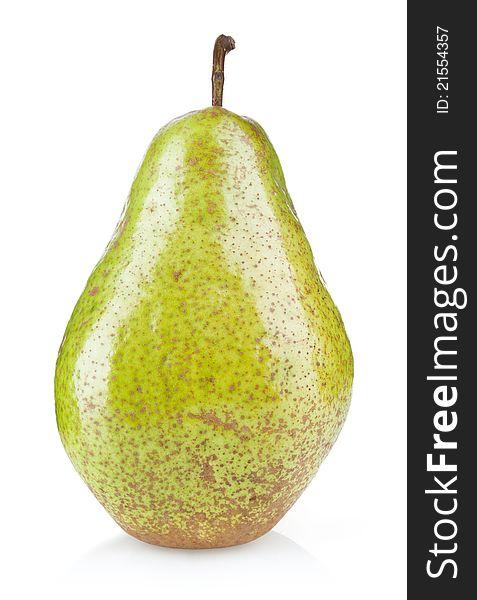 Ripe green pear