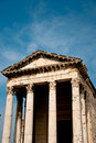 Free Small Roman Temple In The Croatian Town Of Pula Royalty Free Stock Photos - 21567988