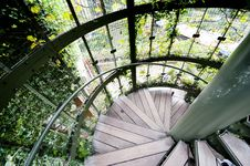 Free Helical Staircase Royalty Free Stock Image - 21560796