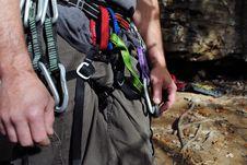 Free Climber S Waist Stock Photo - 21561080