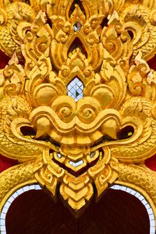 Free Thai Style Architecture Royalty Free Stock Photography - 21561347