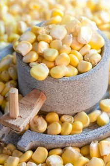 Free Corn And Millstone Stock Images - 21562064