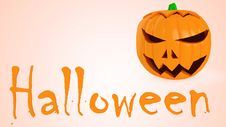 Free Halloween Pumpkin Royalty Free Stock Photo - 21562105