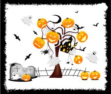 Free Happy Halloween Royalty Free Stock Image - 21565156