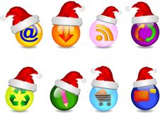 Free Main Business Christmas Icons Stock Photography - 21565182