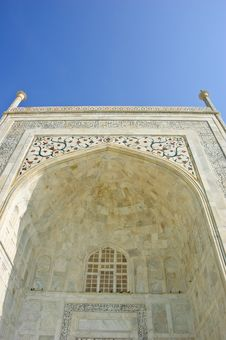 Free One Door Of Taj Mahal, India Royalty Free Stock Photos - 21565628
