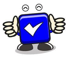 Free Illustration Tick Icon Royalty Free Stock Photos - 21565838