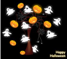 Free Happy Halloween Stock Images - 21565974