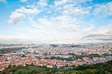 Free Prague Panorama, The Moldau River Stock Image - 21567391