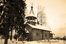 Free The Old Wooden Church On The North Of Russia. Stock Photography - 21568322