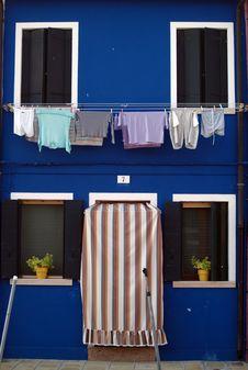 Free Burano - Venice Painted Walls Royalty Free Stock Photos - 21568528