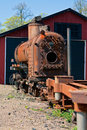 Free Old Rusty Engine Royalty Free Stock Photo - 21574165