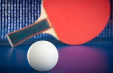 Free Equipment For Table Tennis Stock Photography - 21570572