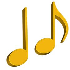 Free Music Notes Royalty Free Stock Photo - 21570725