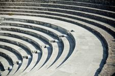 Free Ancient Amphitheater Royalty Free Stock Images - 21572919