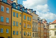Free Old Town In Warsaw Royalty Free Stock Photos - 21573008
