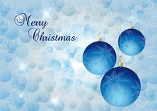 Free Blue Christmas Bal Royalty Free Stock Image - 21573546