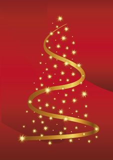 Free Christmas Abstraction Royalty Free Stock Photos - 21573718