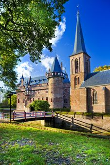 Free Castle In Holland Royalty Free Stock Images - 21573969