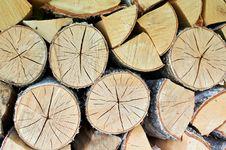 Free Storage Birch Logs Stock Photo - 21577420