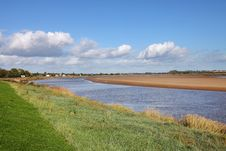 The River Severn In The UK Royalty Free Stock Photos