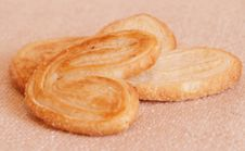 Three Cookies Stock Photography