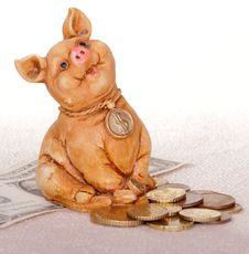 Free Piggy Bank Stock Photo - 21581120