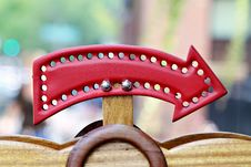 Free Red Arrow Royalty Free Stock Image - 21581636