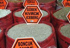 Free Seed Market Royalty Free Stock Image - 21583666