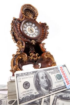Free Time Is Money, Wealth Stock Photo - 21585760