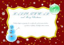 Free Christmas Card Stock Photography - 21586452