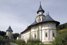 Free Putna Monastery,  Romania Stock Photography - 21586742