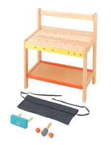 Free Wooden Toy Workstation Table Royalty Free Stock Photography - 21589237