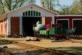Free Depot Children S Railway Royalty Free Stock Photography - 21597177
