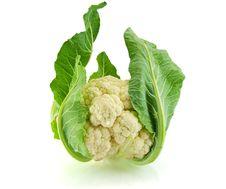 Free Isolated Fresh Cauliflower Royalty Free Stock Photos - 21593378