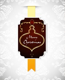 Free Christmas Greeting Card Stock Photos - 21594073