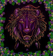 Free Lion Royalty Free Stock Image - 21594436