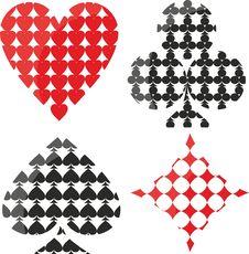 Free Symbols Playing Cards Stock Photos - 21594813