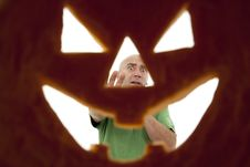 Free Pumpkin Royalty Free Stock Photography - 21598027