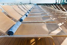 Free Outdoor Relaxation Area On Cruise Liner Stock Photo - 21599480