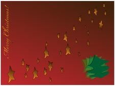 Free Christmas Background Royalty Free Stock Photography - 21599697